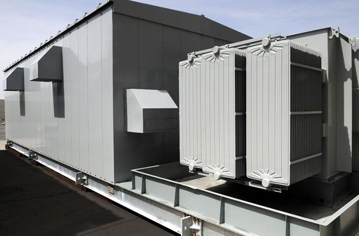 Portable Amp Skid Mounted Buildings